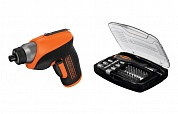 Отвертка Black & decker CS3652LC-XK