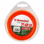 Леска для триммеров Hammer TL HEXAGON 1.3mm X 15m